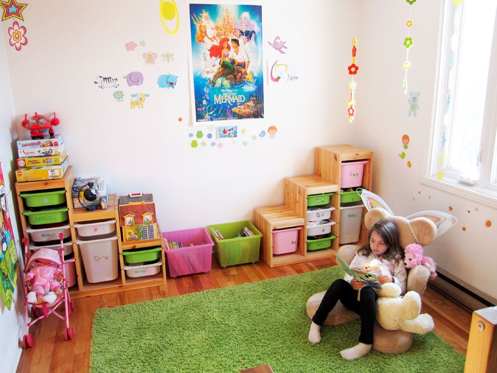 Trofast Ikea organise the playroom with ikea trofast put a counter the