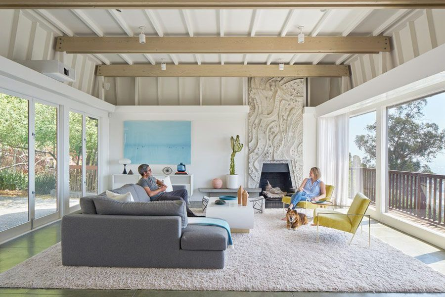 This Mid Century Modern In Berkeley Hills Has Gone Through An Extensive  Renovation. The House