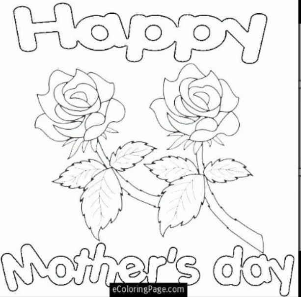 Pin by Pammy on Mother's Day | Valentines day coloring ...