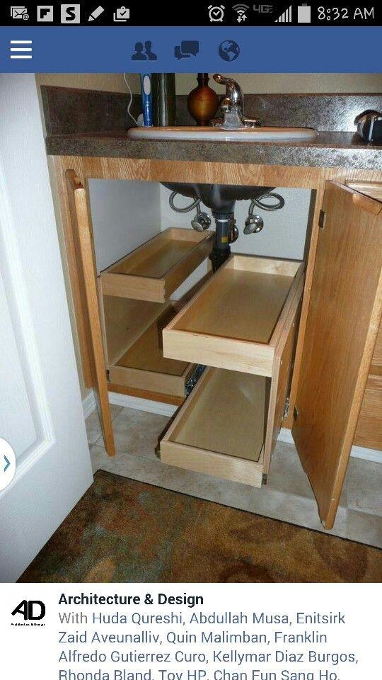 under sink storage kitchen remodel kitchen remodel bathroom rh pinterest co uk