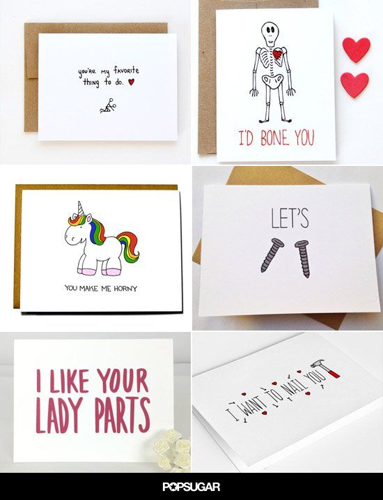 Dirty Valentines Puns : dirty, valentines, Naughty, Valentine's, Cards, Valentines,, Funny, Valentines, Cards,