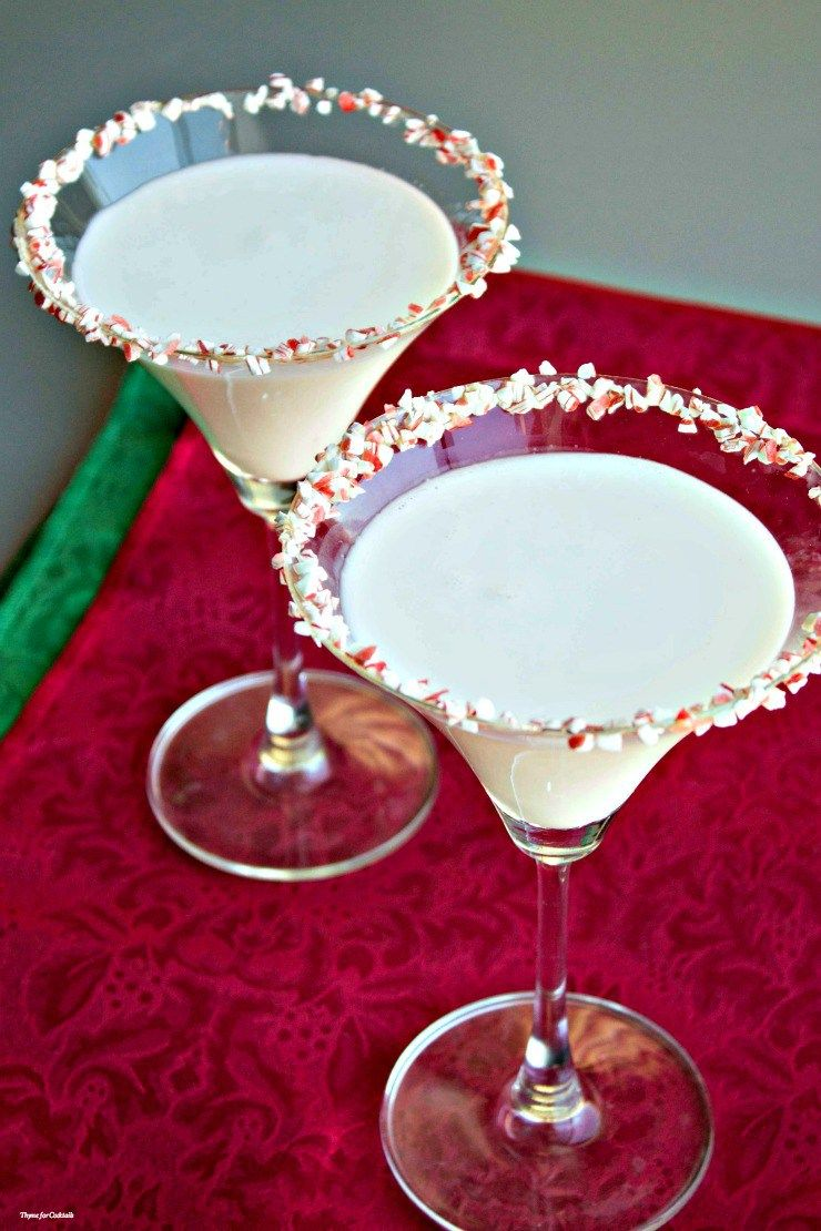 white chocolate peppermint mocktini recipe christmas. Black Bedroom Furniture Sets. Home Design Ideas
