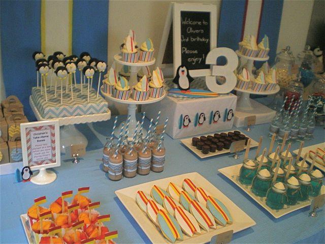 die besten 25 pinguin party ideen auf pinterest schnee. Black Bedroom Furniture Sets. Home Design Ideas