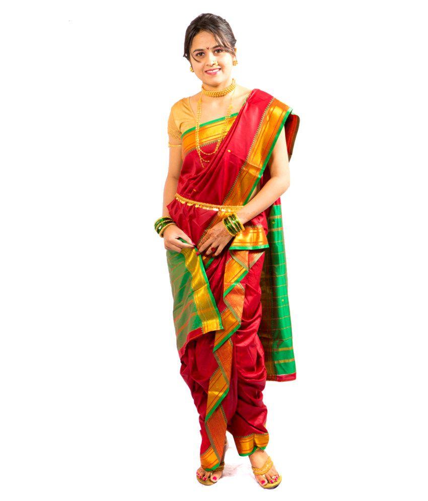 9 yard saree - Google Search | Navuwari | Pinterest | Saree, Blouse ...