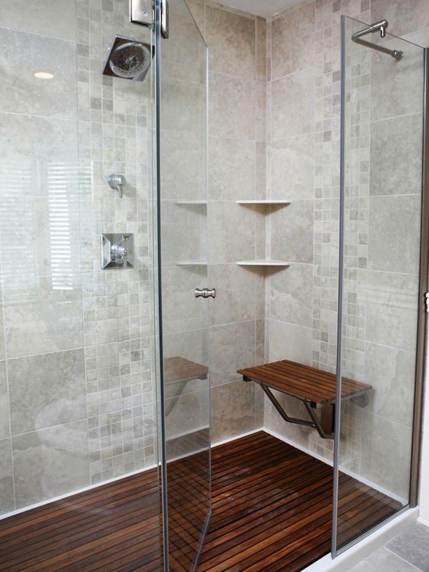 Amazing Tubs And Showers Seen On Bath Crashers Teak Shower Floor