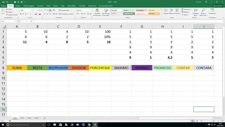 10 Funciones De Excel Con Ejemplos Que Has De Conocer Sí O Sí Para Pasar De Nivel Básico A Nivel Medio En La Hojas De Cálculo Hoja De Calculo Excel Computacion