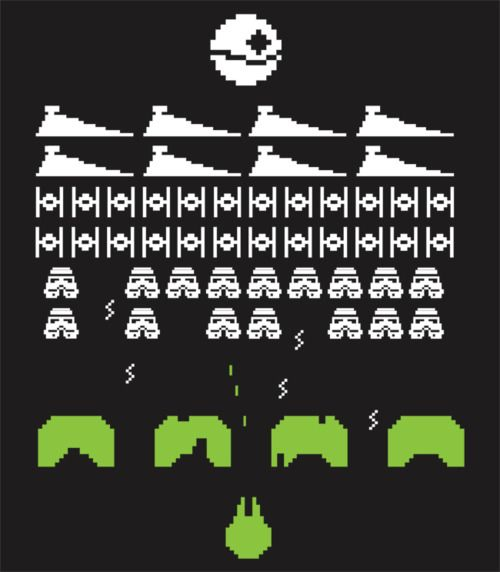 8-Bit Star Wars - Illustration by Matt Cowan