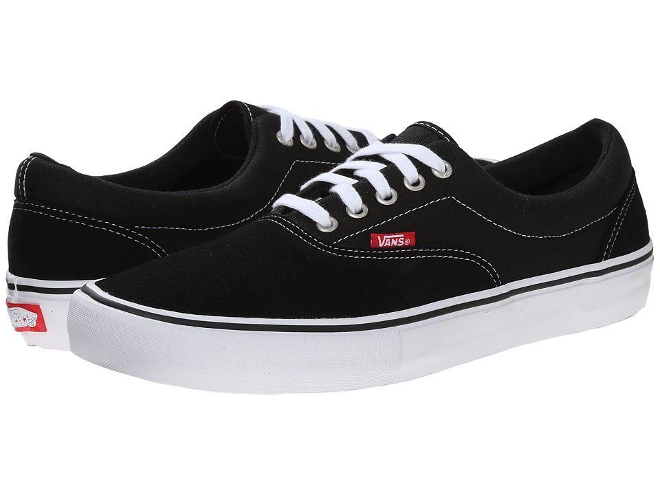 Vans Era Pro Men's Skate Shoes Black/White/Gum