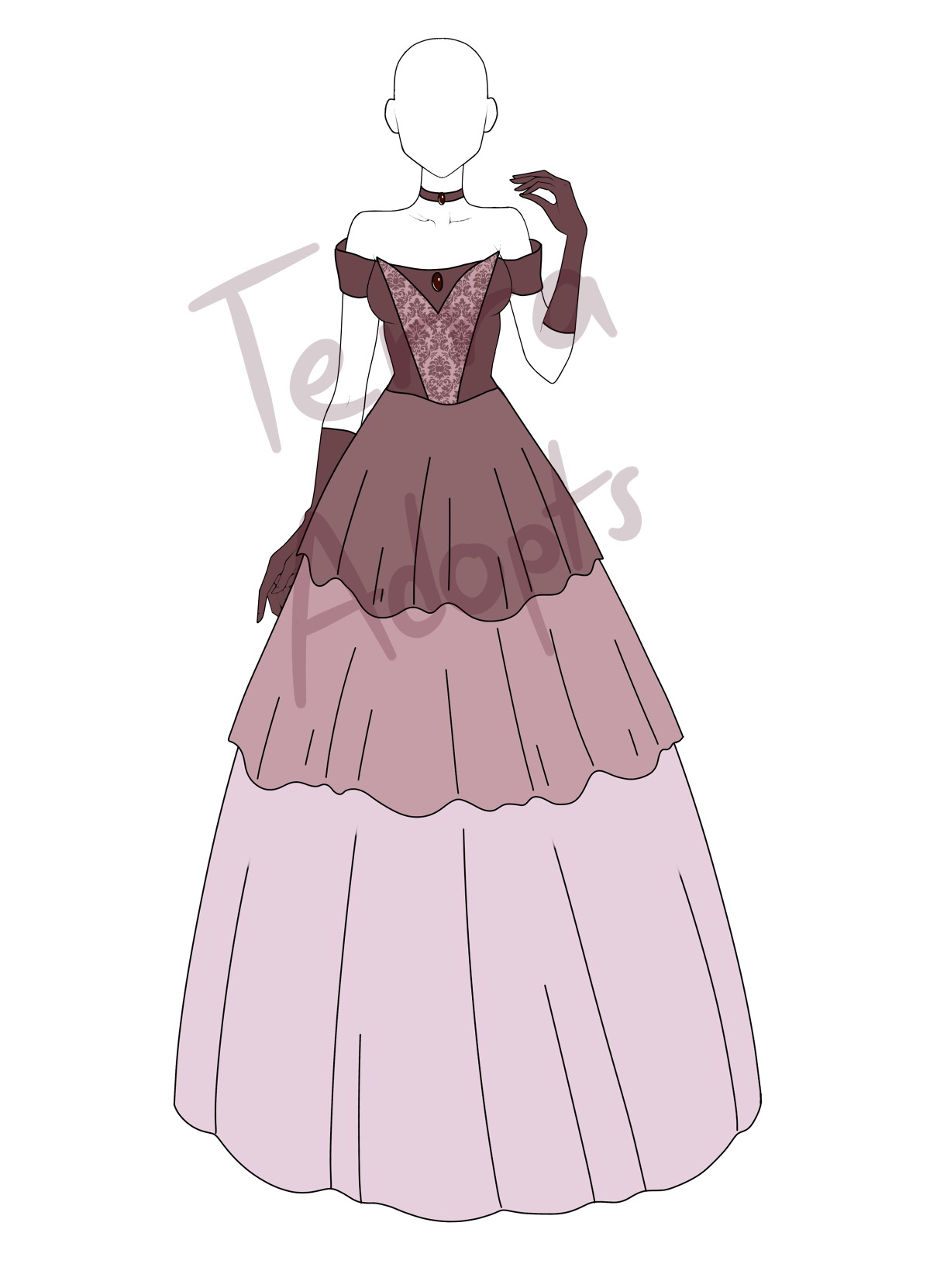 'Chocolate Princess' Auction CLOSED by terra-adopts ...