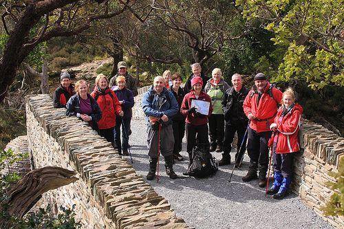 Annascaul Walks! members at Tomies wood, Killarney.