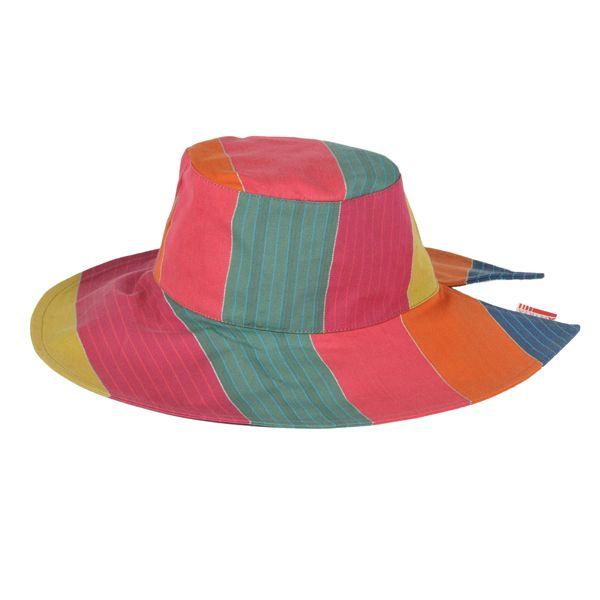 Capeline+Boucau+Chapeau+capeline+en+toile+transat,+taille+unique,+diamètre+21+cm+hauteur+9+cm.