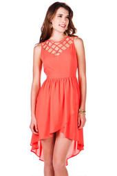 La Grotta Hi-Lo Dress - Francescas