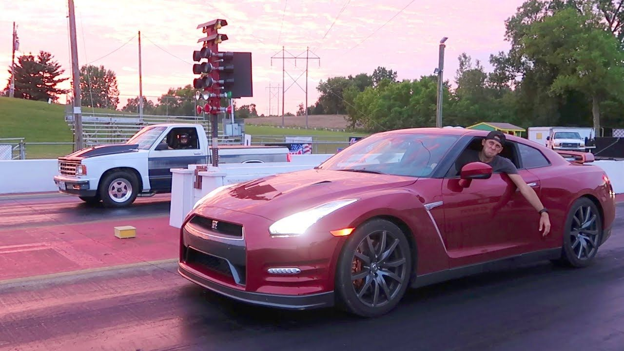 GTR DESTROYED BY TRUCK!! | Roman Atwood | Pinterest