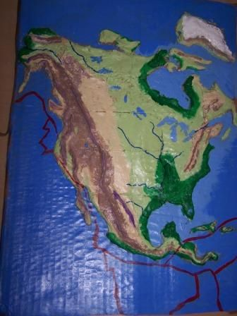 North America Salt Map made from salt dough  1C salt  1C flour  1 2C     North America Salt Map made from salt dough  1C salt  1C flour  1 2C water   food coloring  Adjust batches as needed  These were great fun