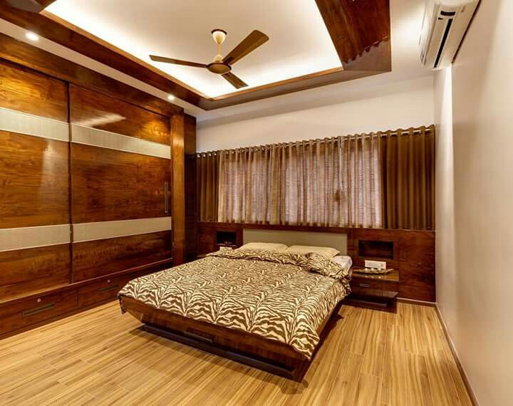 Dupex Bungalow At Kolhapur Designed By Culturals Interior Designers Wardrobe Design Bedroom Bedroom Bed Design Bedroom Furniture Design