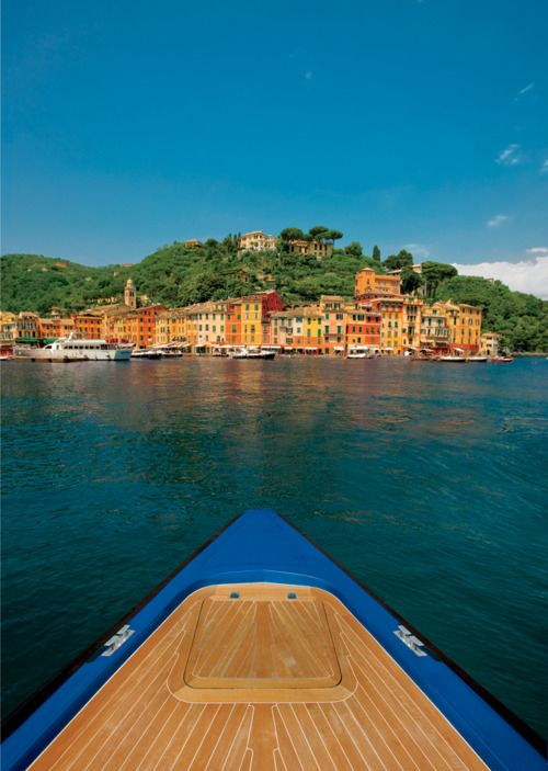The Most Beautiful European Ports to Sail Into | Portofino, Italy    Photo by Michel Figuet
