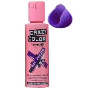renbow crazy colour temporary hair dye  hot purple