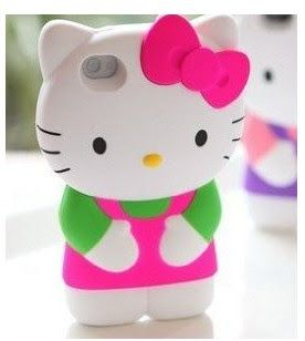 Cute hello kitty inspired  Iphone case and cover