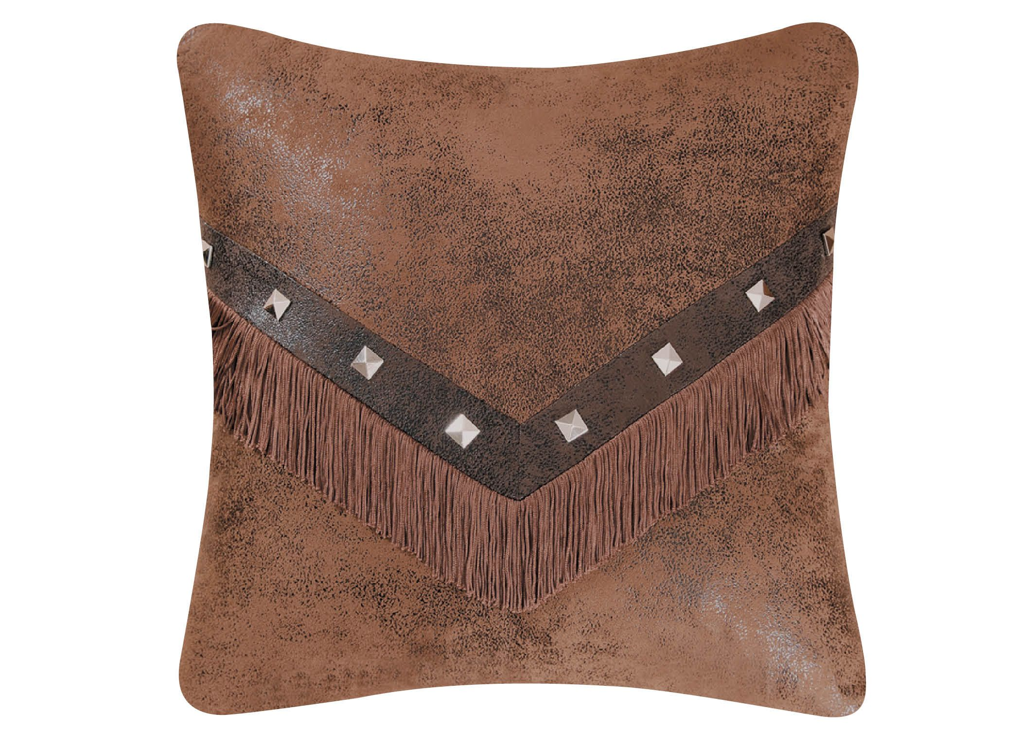 deerskin throws pillow and style decor decorative cushion accessories gallery throw pillows blanket western with fringe