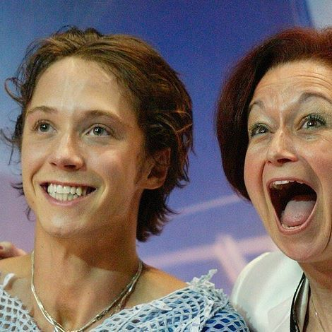 I was so lucky to find Priscilla Hill as my first coach. She taught me to skate, guided me to 3 US titles, how to drive and most importantly to believe in the gifts I have. She really was my second mother and today I want to wish her a Happy Birthday, with many happy returns. I love you Prill.