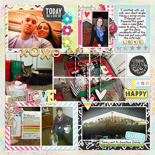 Digital Scrapbooking Layout with Just Jaimee - Storyteller 2015: Quinn - The Collection by Just Jaimee; Storyteller 2015: Mega Tag and Label Pack and Storyteller 2015: Mega Photoshop Style Pack by Just Jaimee;  Custom Font