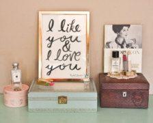 I like you  & I love you