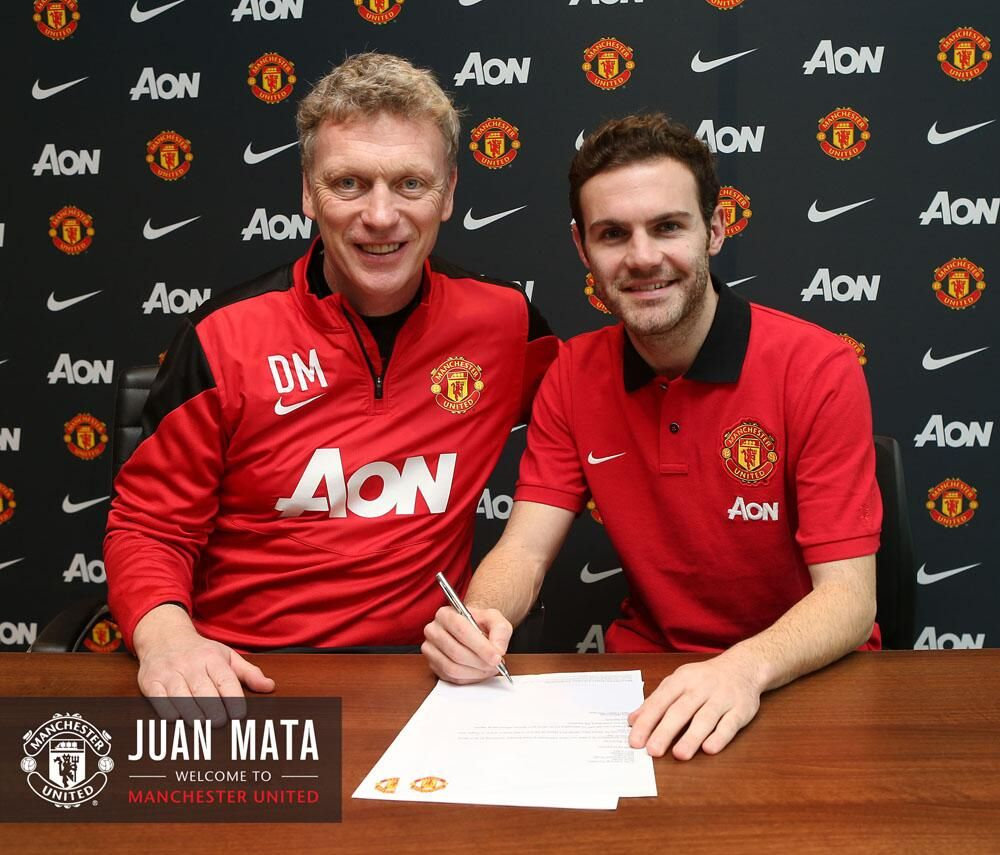 Medical Complete Deal Done Juan Mata Is A Red Mata Said Today Is A Very Happy Day It S A Massive Juan Mata Manchester United Manchester United Players