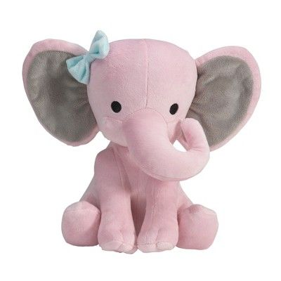 Best Bedtime Originals Twinkle Toes Elephant Plush Pink 400 x 300