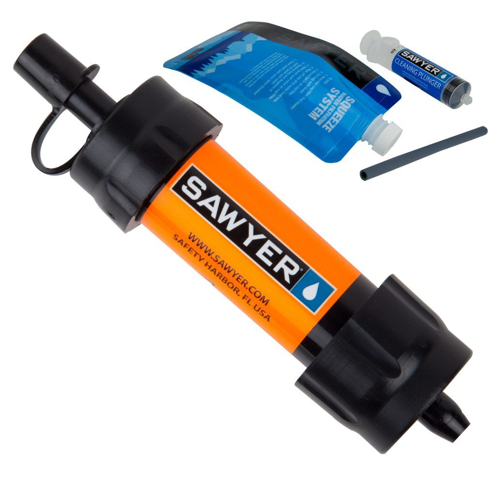 MINI Water Filtration System Camping water filter, Water