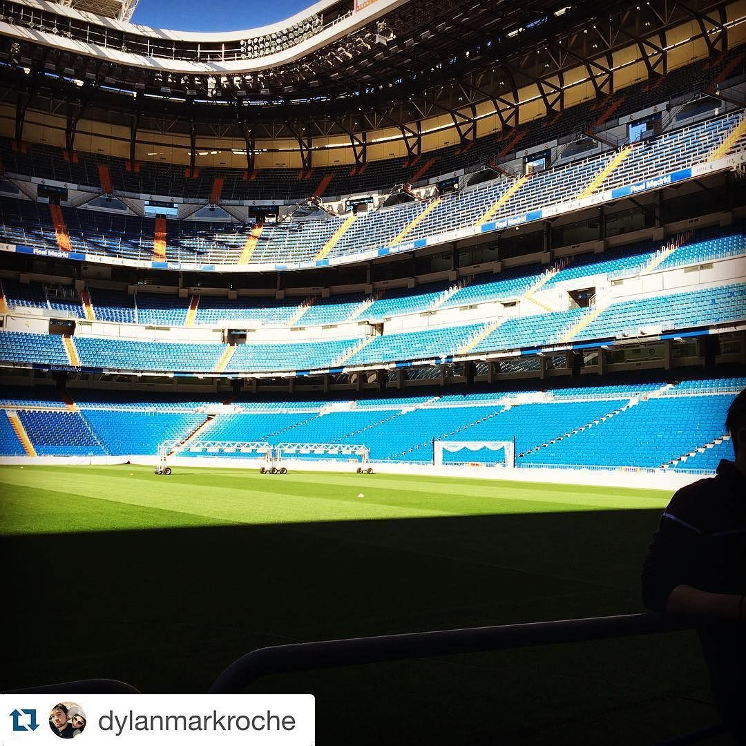 #Repost @dylanmarkroche Real Madrid Stadium tour was awesome #rhodynation #ispyapi #apiabroad #realmadrid #studyabroad