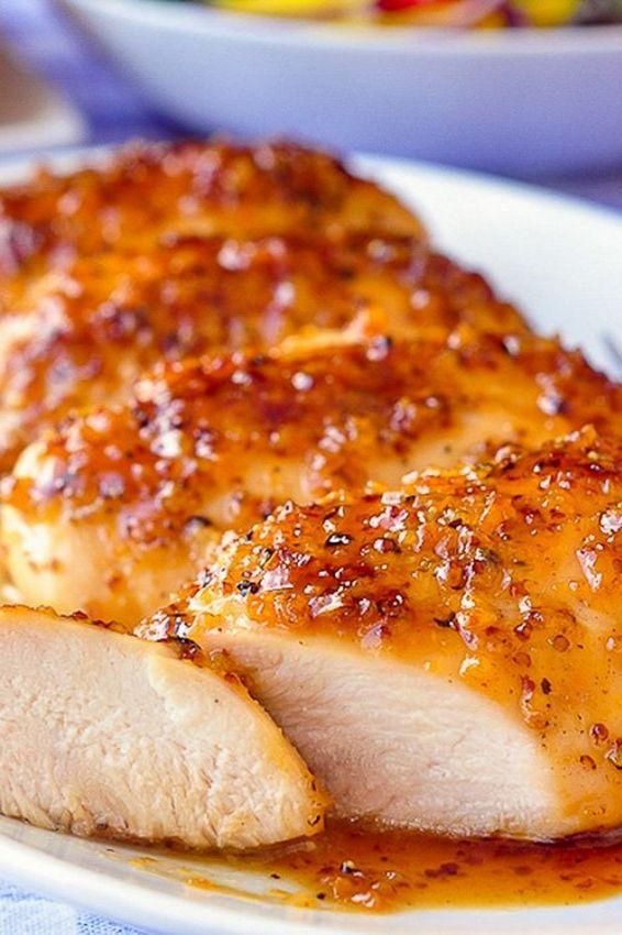 Photo of Honey Dijon Garlic Chicken Breasts – Recipes-Yummy