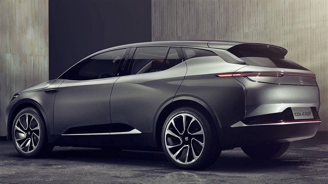 2019 Byton Electric SUV Concept Officially Unveiled