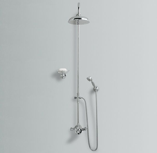 Thermostatic Exposed Shower System (with 8\