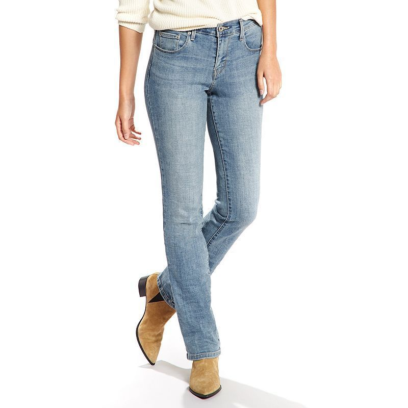 Women S Levi S 505 Straight Jeans In 2020 Straight Jeans Womens Levi Straight Leg Jeans