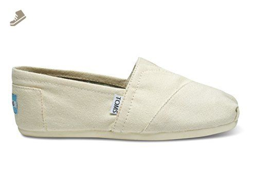 376b970a4489d TOMS Women's Classic Slip-On (5.5 B(M) US / 36 EUR, Natural Canvas ...