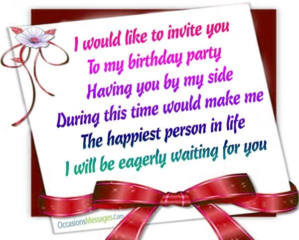 Birthday invitation wording ideas birthday pinterest messages birthday invitation wording ideas filmwisefo