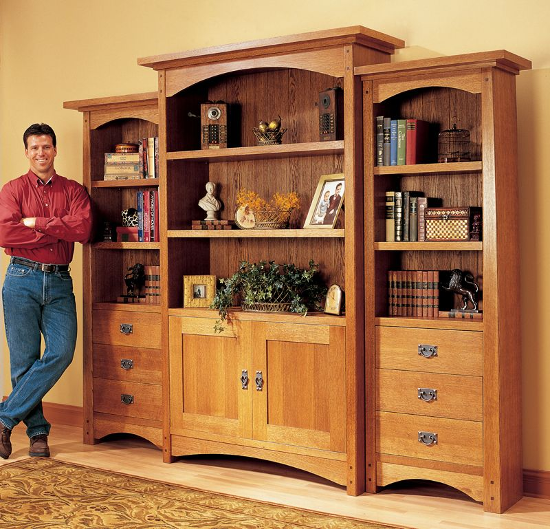 Craftsman Bookcase - Woodworking Projects - American Woodworker