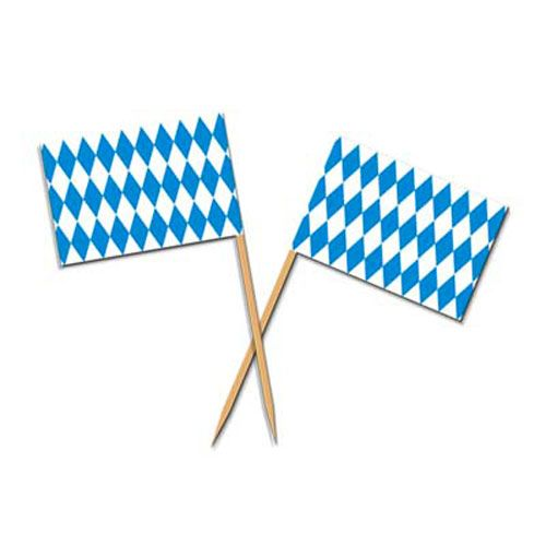 Oktoberfest Toothpick Flags (50) | Germany | International World Country Party Decorations #octoberfestfood