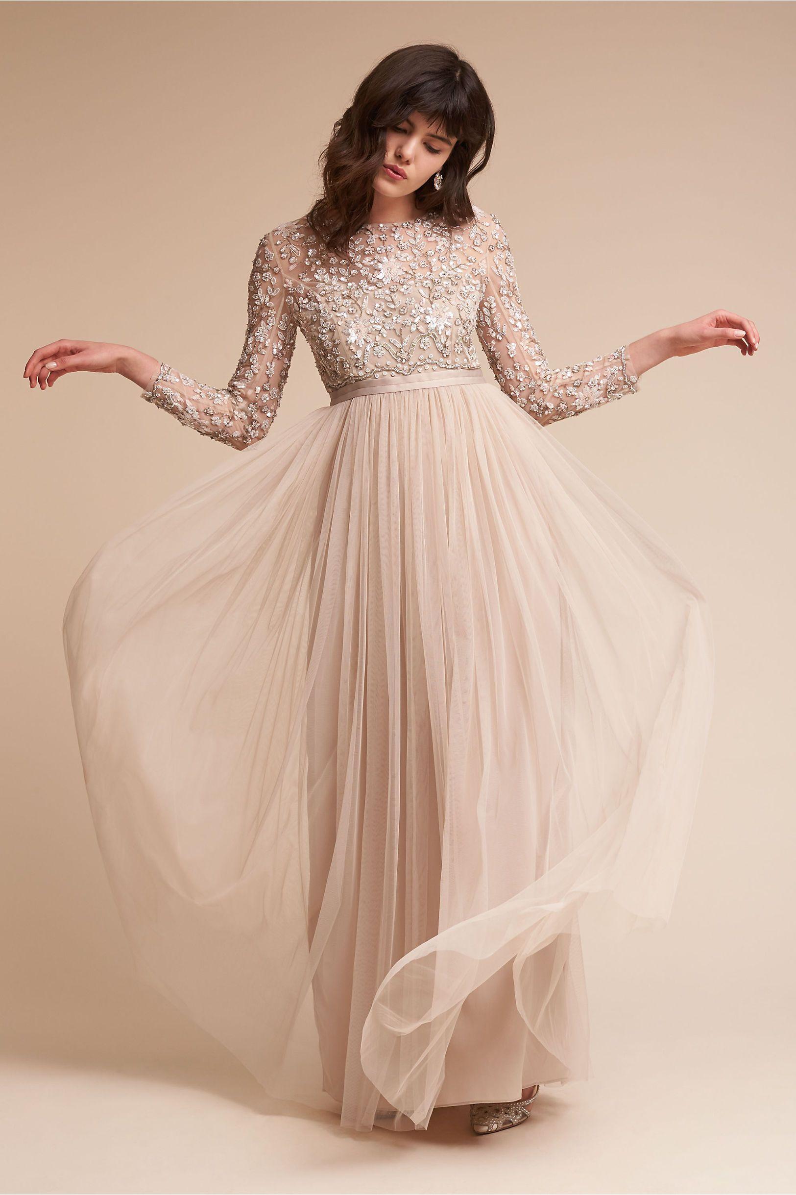 ef090daf6c0 BHLDN s Needle   Thread Rhapsody Dress in Rose Beige. BHLDN Rhapsody Dress  in Bride Wedding Dresses ...