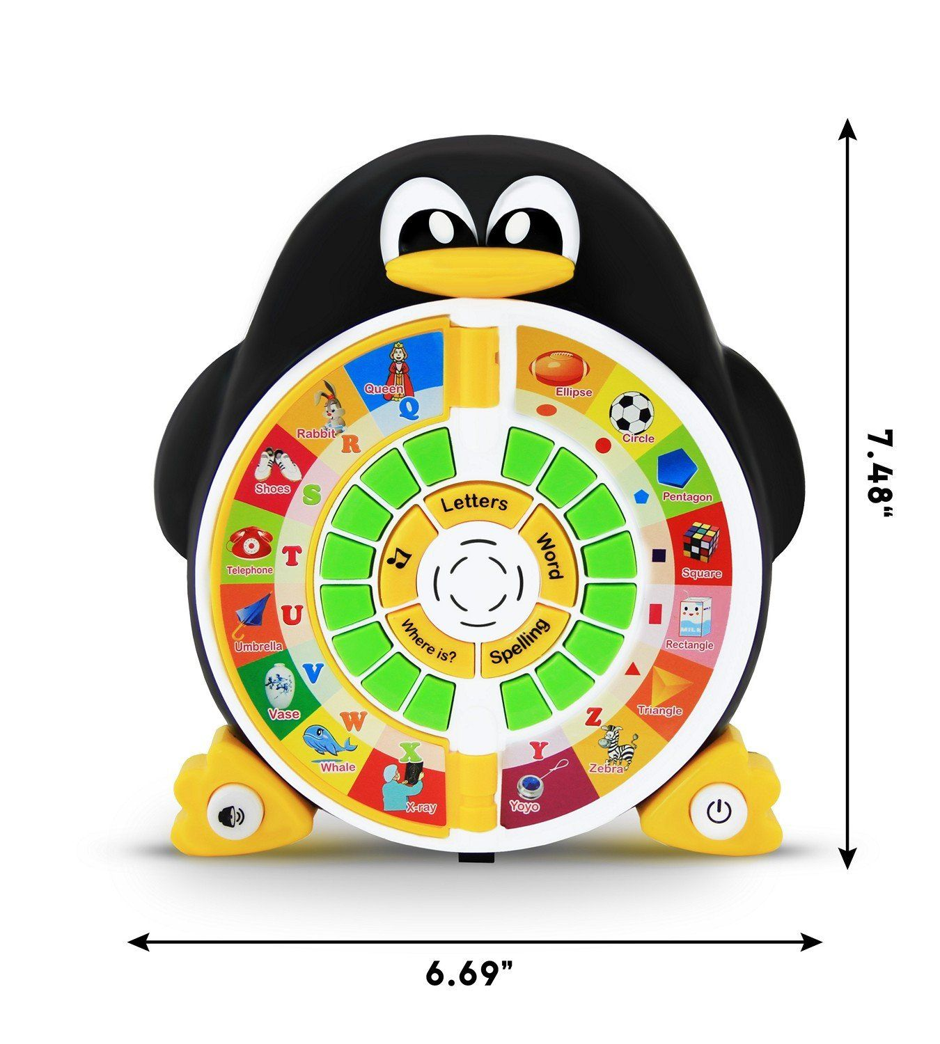 Penguin Fun ABC Learning Educational Toy | Learning toys ...