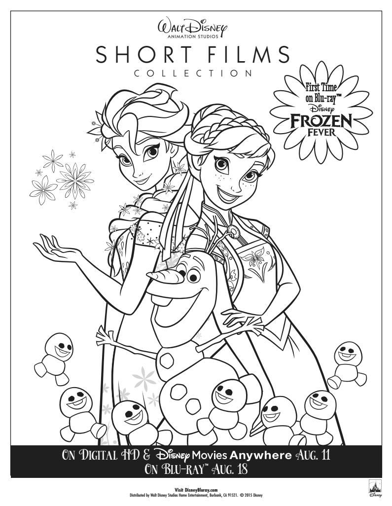 Frozen Fever Coloring Pages Coloringnori Coloring Pages For Kids In 2020 Frozen Coloring Pages Disney Princess Coloring Pages Disney Coloring Pages