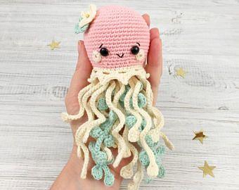 Amigurumi Jellyfish : Sweet octopus amigurumi pattern amigurumipatterns