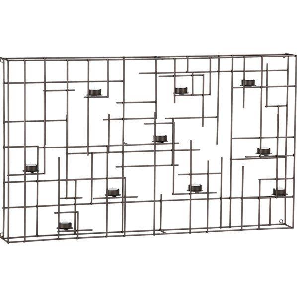 beam wall candleholder  150 42 u0026quot wx4 5 u0026quot dx25 5 u0026quot h for patio wall