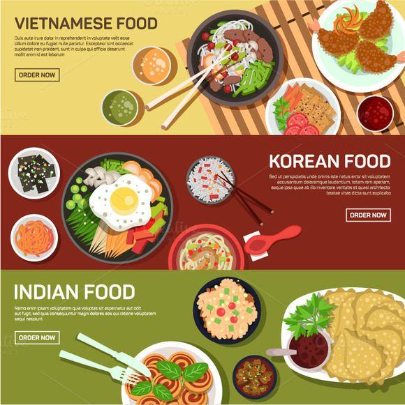 Asian Street Food Web Banner Asian Street Food Food Street Food