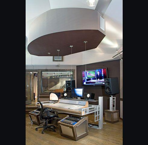 Nicole Saman Malibu Recording Studio Interior Design Los Angeles California