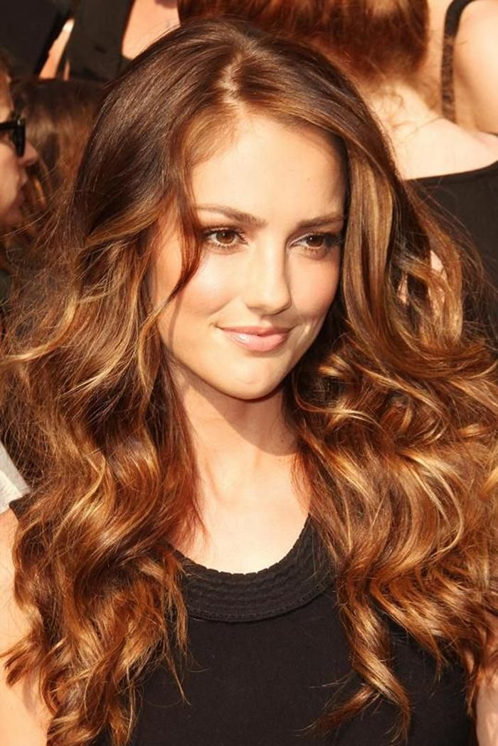 Golden Red Brown Hair Color The Perfect Color Golden Brown Hair