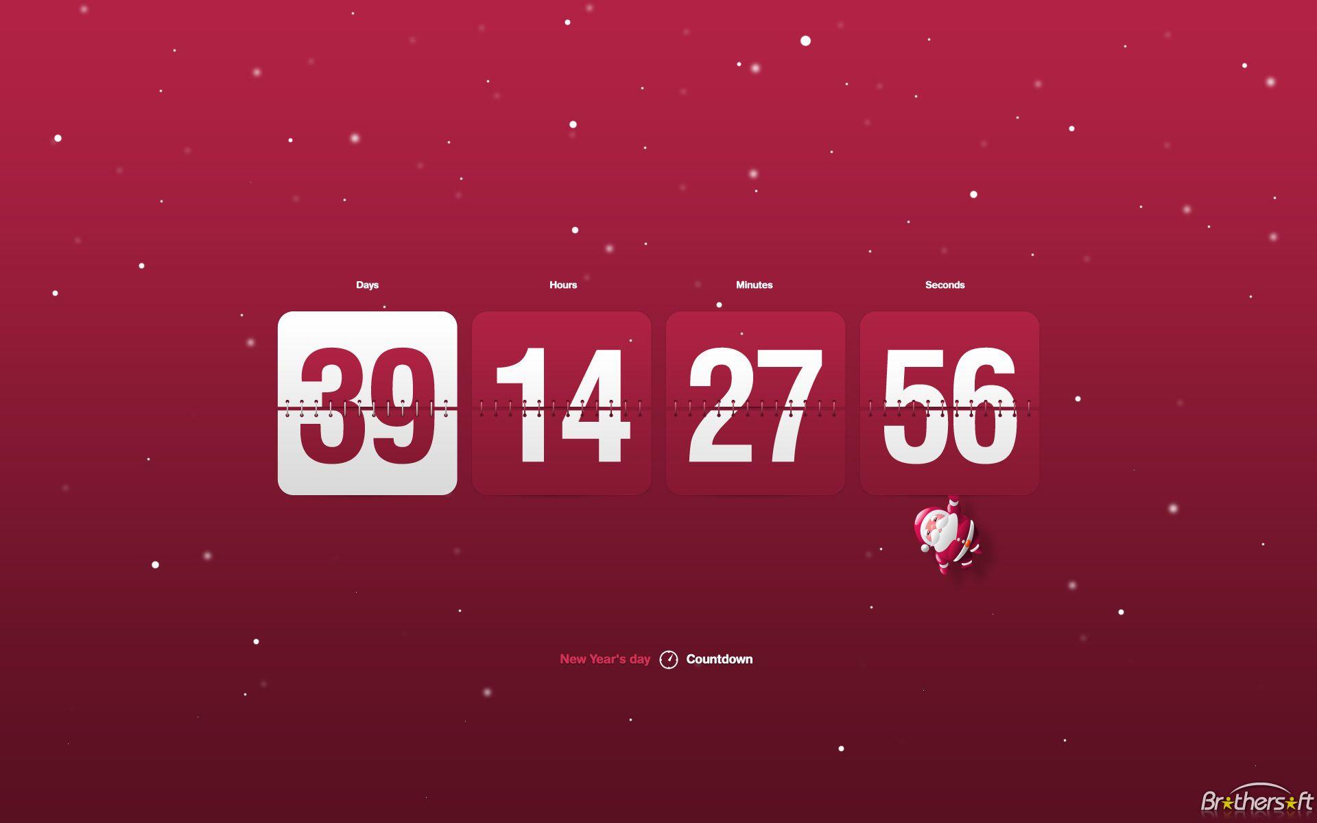 New Year Countdown Clock Clock Screensaver Countdown Clock Retirement Countdown