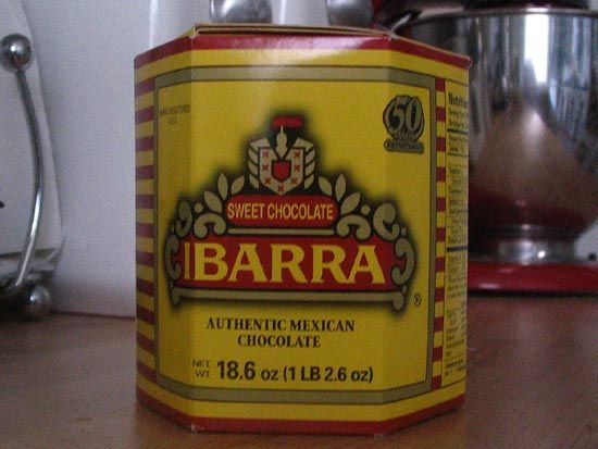 A 1 lb 2.6 oz box of Ibarra will make about 24 cups-- contains individually wrapped discs of rich chocolate laced with cinnamon.
