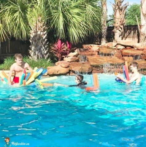 20 Fun Swimming Pool Games for Kids   Family and Me ...