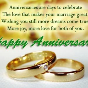 Quotes For Wedding Anniversary For Friends With Images